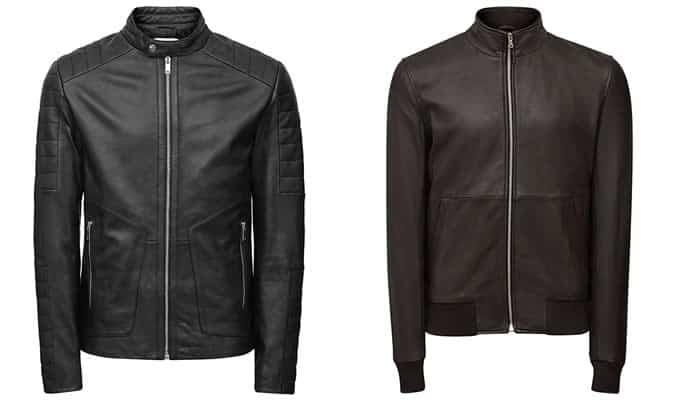 Men's Reiss Leather Jackets