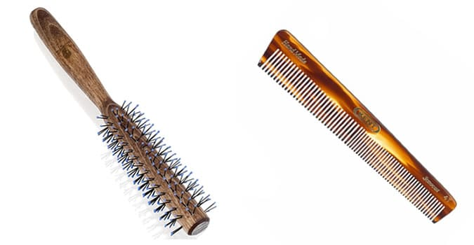 The best men's combs and brushes for quiff hairstyles