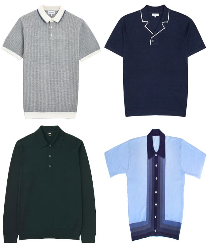 The Best Knitted Polos For Men