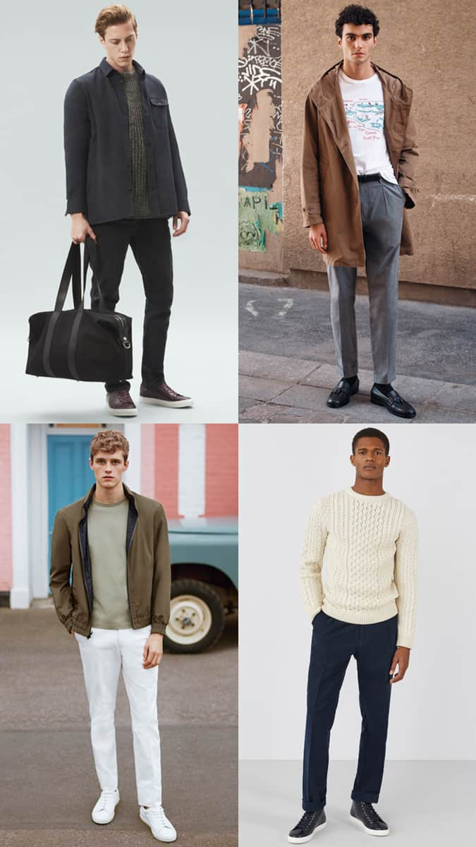 Modern Fit And Casual Men's Clothes