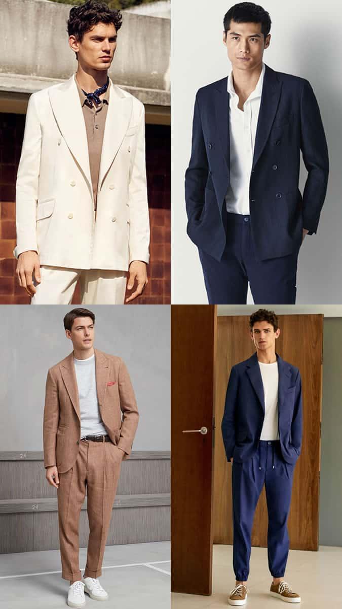 80s suit trend men