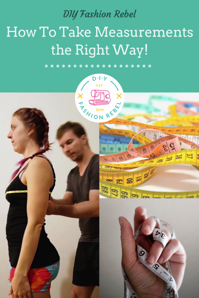 Free Body Measurements Chart - Sewing Printables