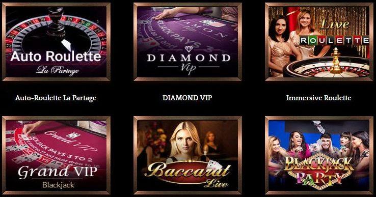 Bronze casino live games