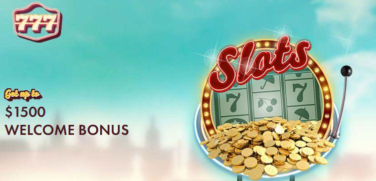 777 Casino Welcome Bonus