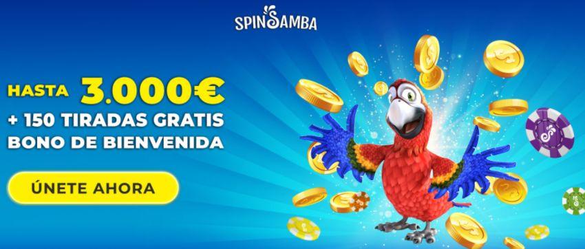 SpinSamba Casino Bono