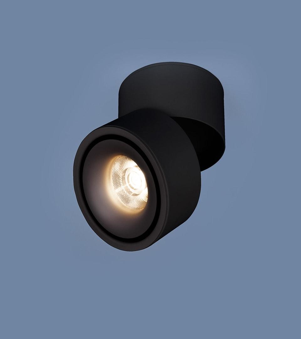Накладной потолочный светодиодный светильник DLR031 15W 42рный матовый00K 3100 че 2