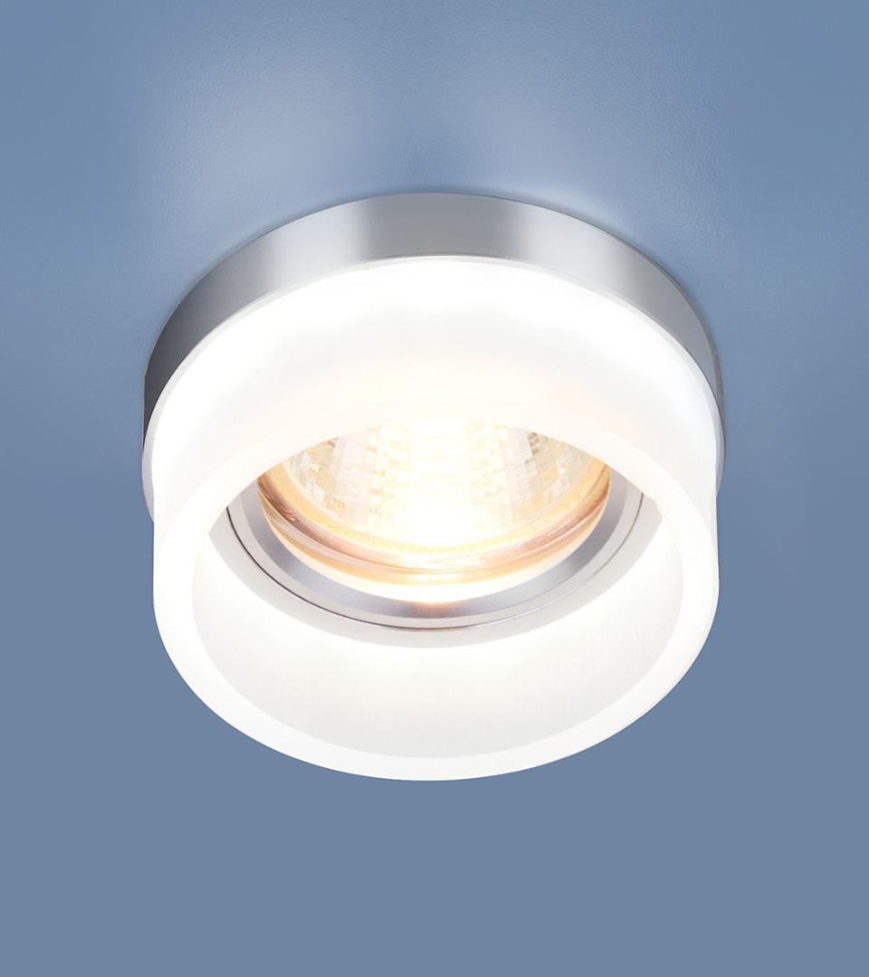 Точечный светильник с LED подсветкой 2205 MR16 MT матовый 3
