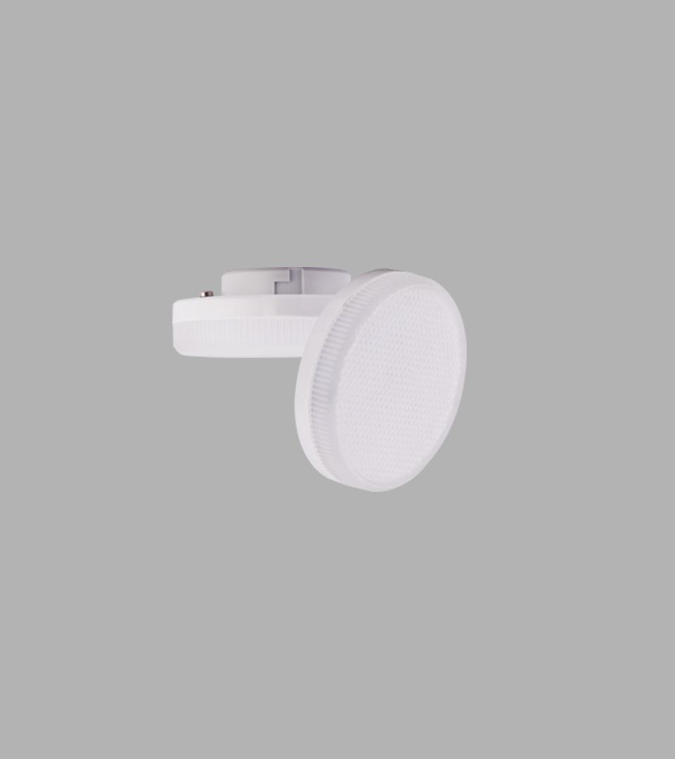 Ecola Light GX53 LED 6W 4200K матовое стекло 1