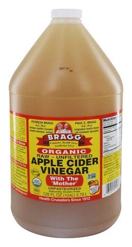 1. Bragg 128 fl. oz. Giấm hữu cơ