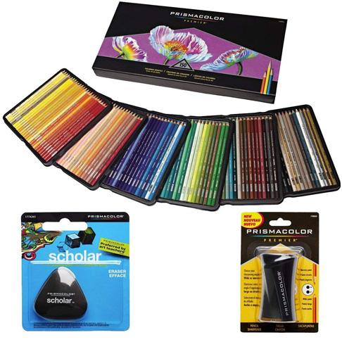 5. Prismacolor Coloured Pencils Hộp 150 loại màu -Preferred