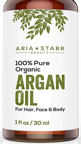 3. Aria Starr Organic Beauty Argan Oil 100% nguyên chất