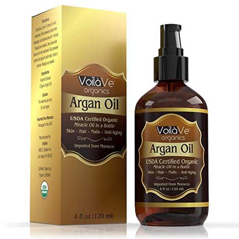 5. Dầu Argan nguyên chất hữu cơ được chứng nhận VoilaVe ép lạnh