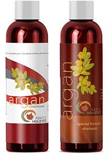 2. Dầu gội và dầu gội dưỡng tóc Maple Holistics không chứa Sulfate