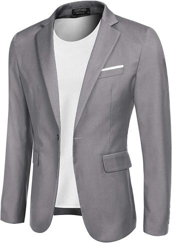 2. Áo khoác thể thao nam COOFANDY Casual Blazer Jacket