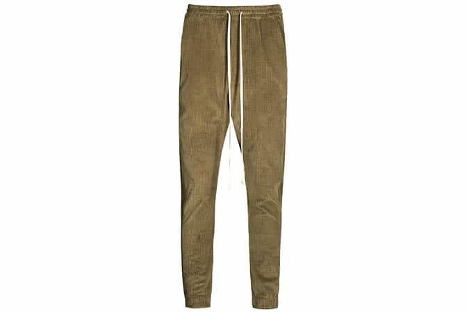 TWENTY Champlain cotton-corduroy jogging bottoms