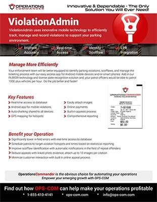 ViolatioAdmin violation management hotsheet