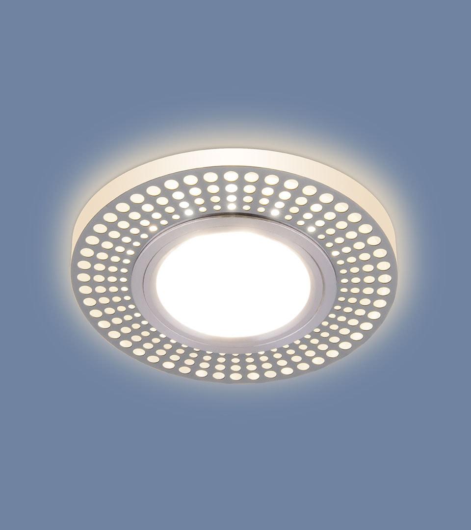 Встраиваемый потолочный светильник со светодиодной подсветкой 2231 MR16 1