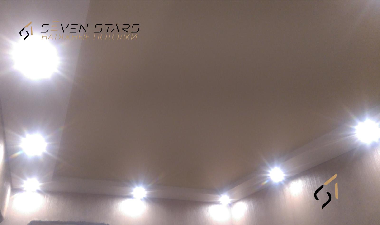 Двухуровневые потолки 57