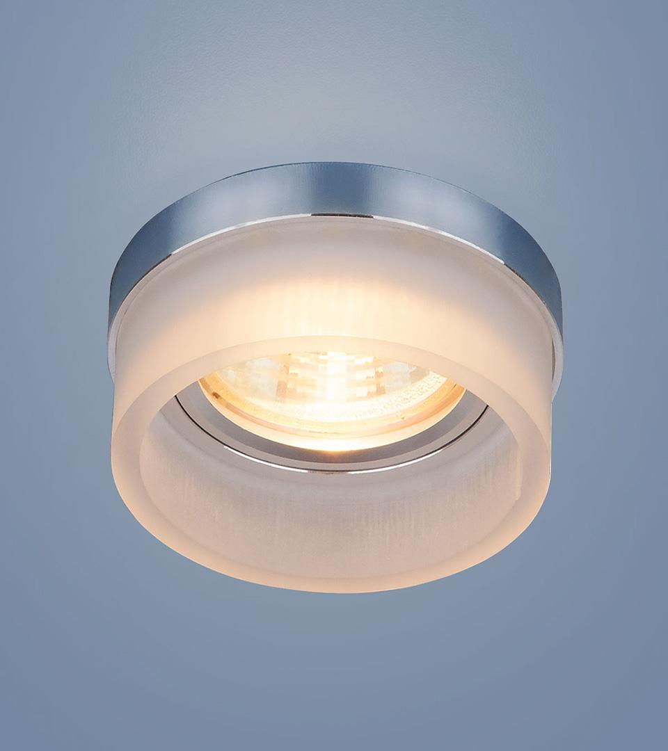 Точечный светильник с LED подсветкой 2205 MR16 MT матовый 1
