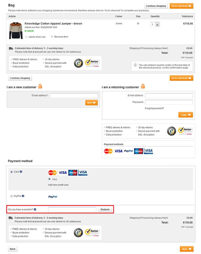 Where To Enter Your Zalando Discount Code On Site