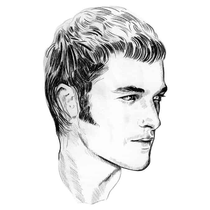 Men's Beard & Facial Hair Trends - Sideburns