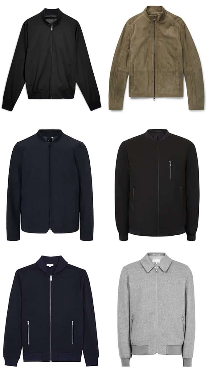 the best smart-casual bomber jackets