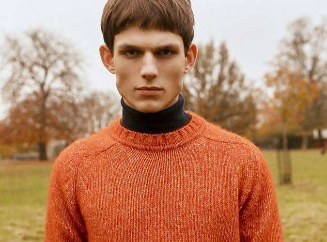 John Smedley men's knitwear