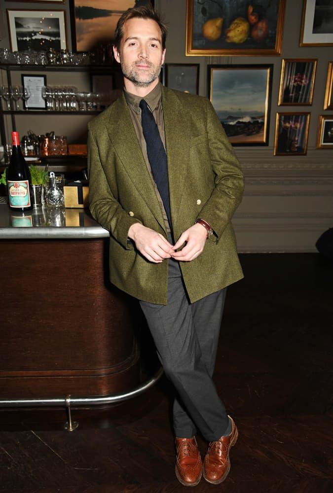 Patrick Grant At London Fashion Week Men's