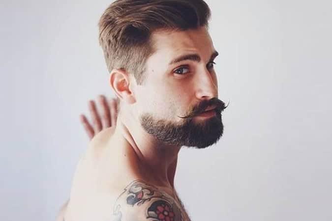 Hollywoodian Beard Style