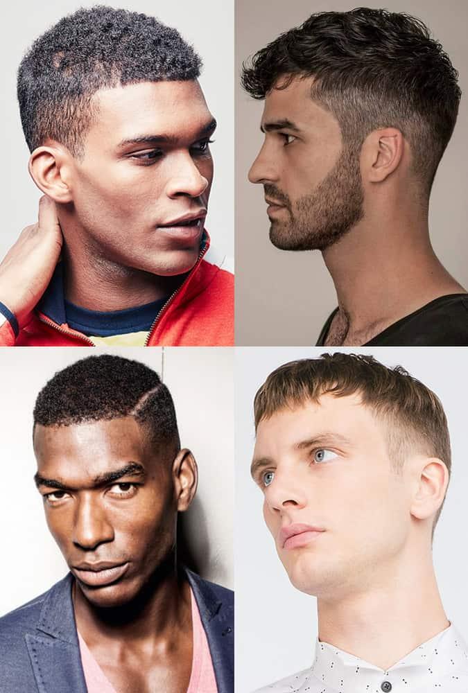 Short Taper Haircuts For Men