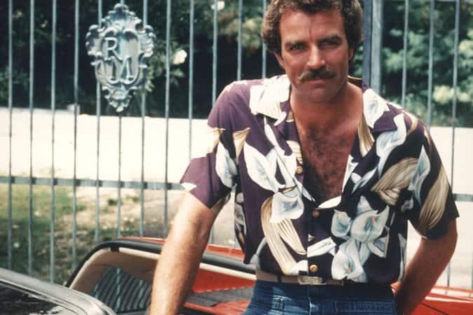 Tom Selleck In Magnum PI