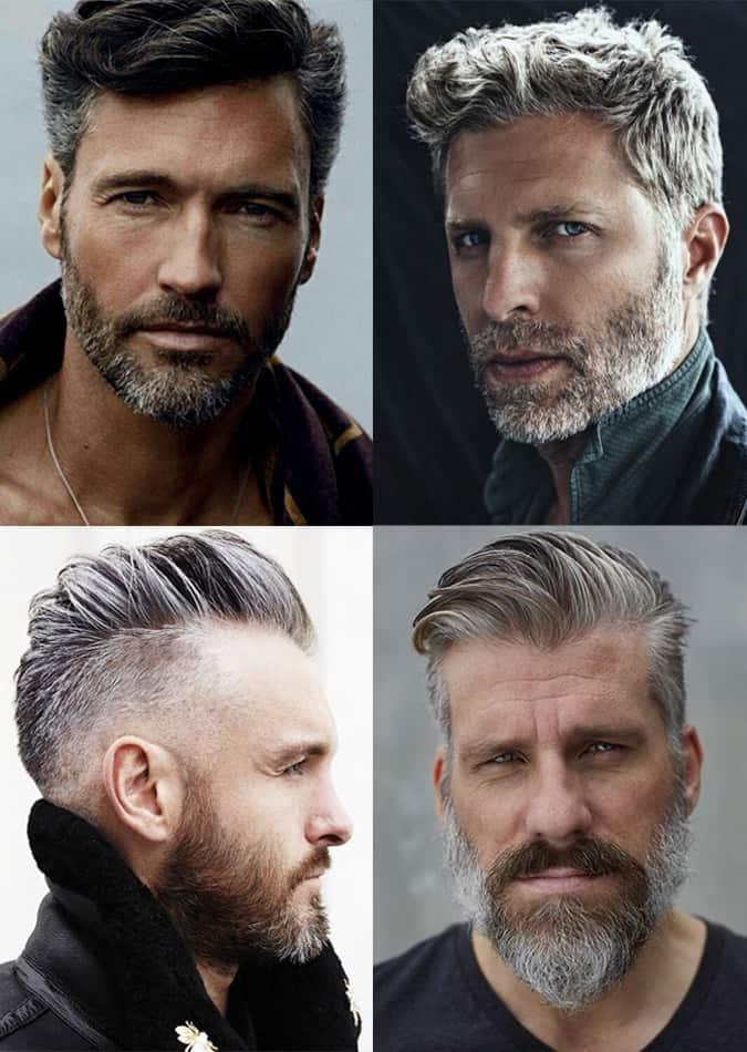 Men's Grey Hairstyles
