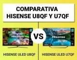 Hisense U8QF vs. Hisense U7QF   COMPARATIVA ULED 2020