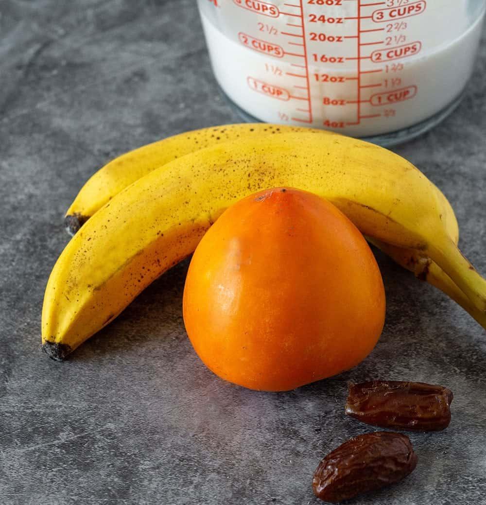 Persimmon Smoothie - Healthier Steps