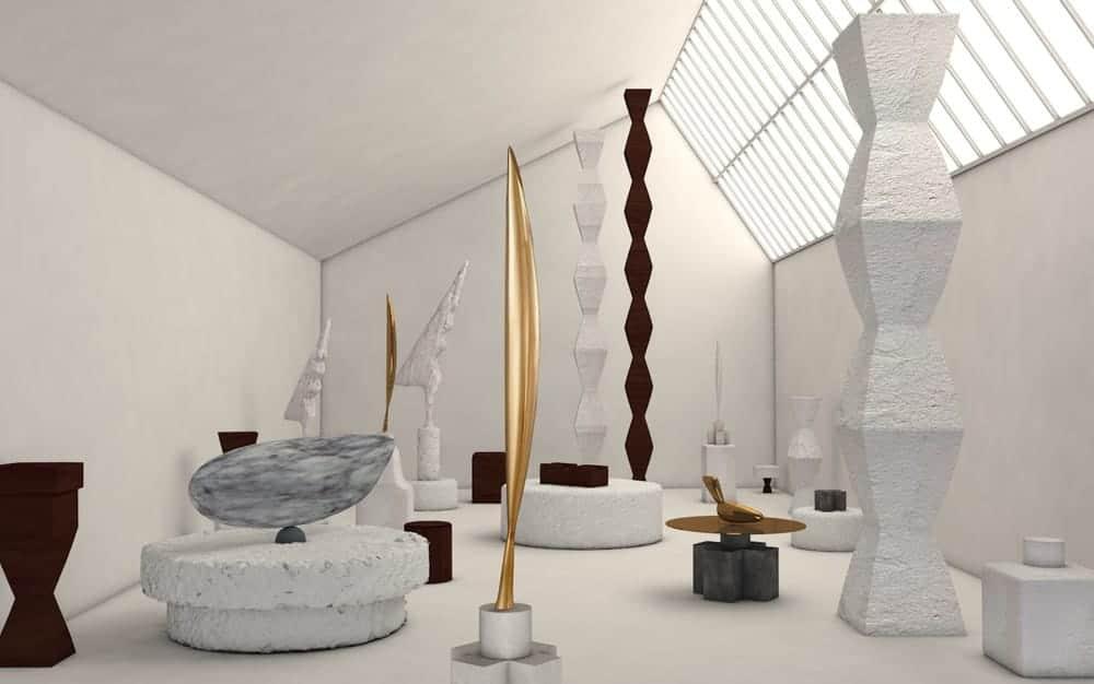 Renzo Piano's 1997 reconstruction of Constantin Brancusi's studio