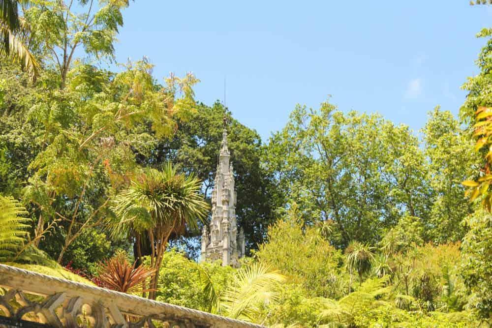 Turm in der Quinta da Regaleira