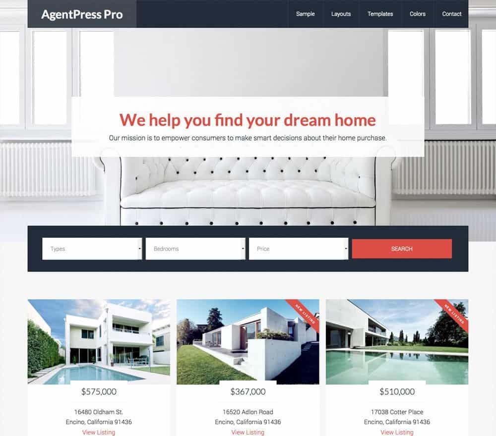 AgentPress Pro theme