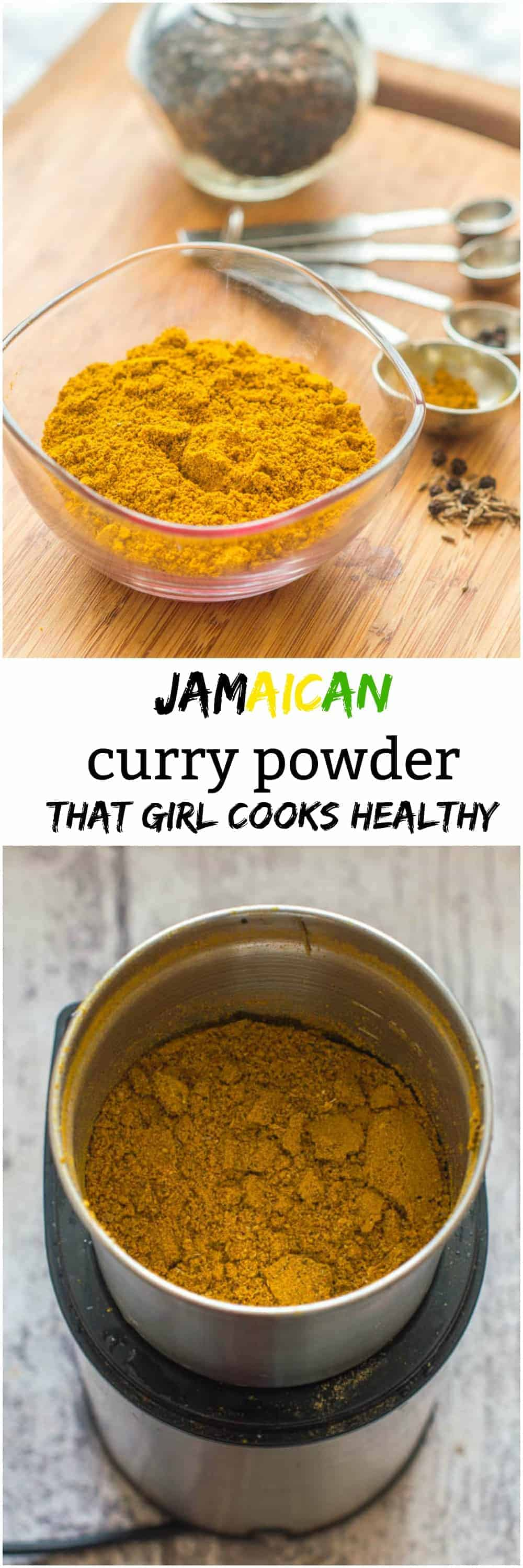 Jamaican Curry Powder That Girl Cooks Healthy