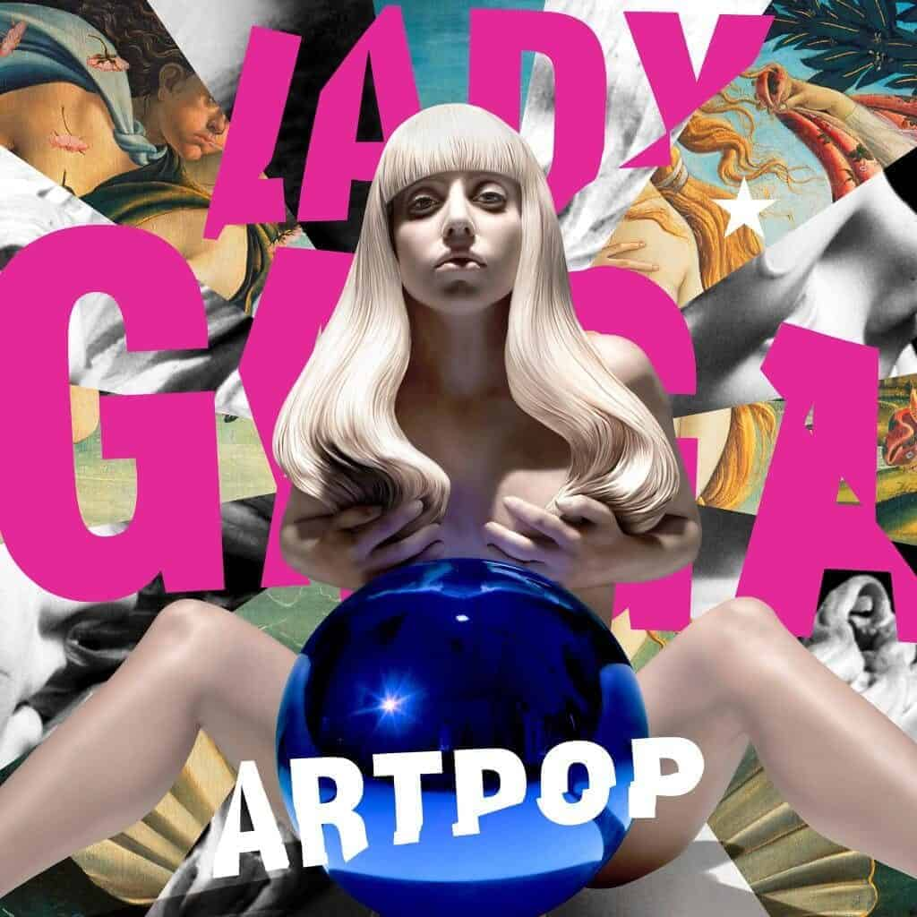 Lady Gaga's ARTPOP album cover by Jeff Koons, 2013