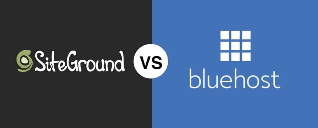 SiteGround vs Bluehost Comparison