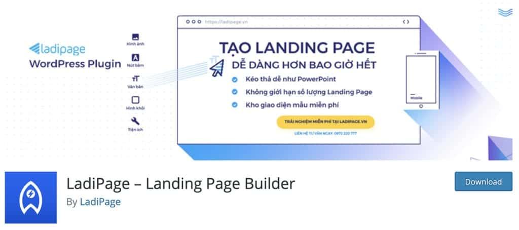 LadiPage – Landing Page Builder