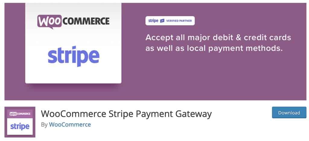 WooCommerce Stripe Payment Gateway