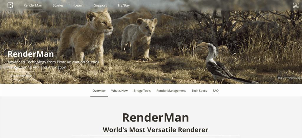 Pixar Renderman 3d Software