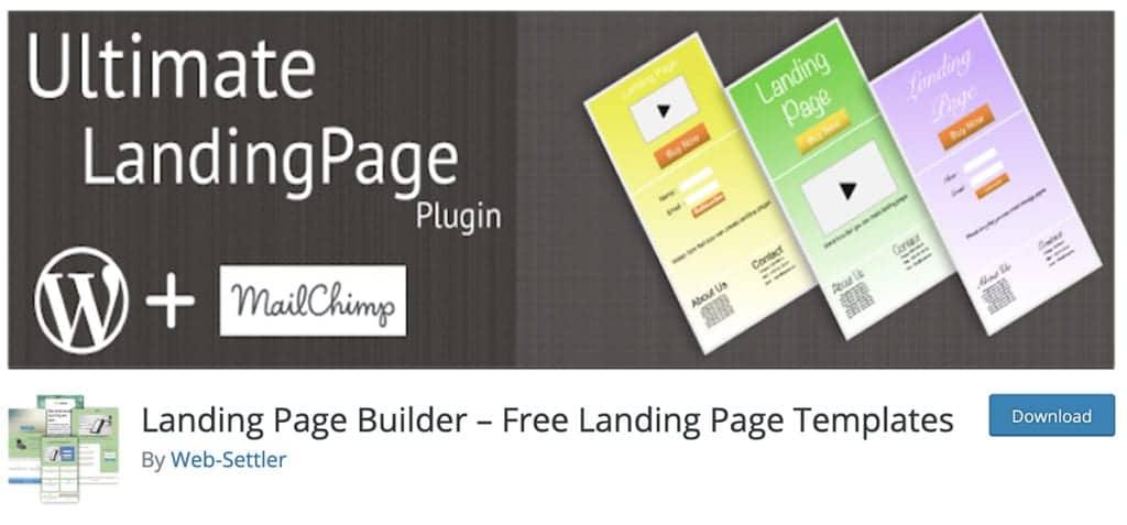 Landing Page Builder – Free Landing Page Templates