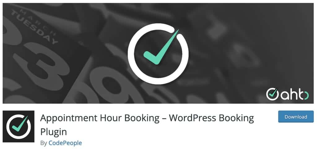 Appointment Hour Booking – WordPress Booking Plugin