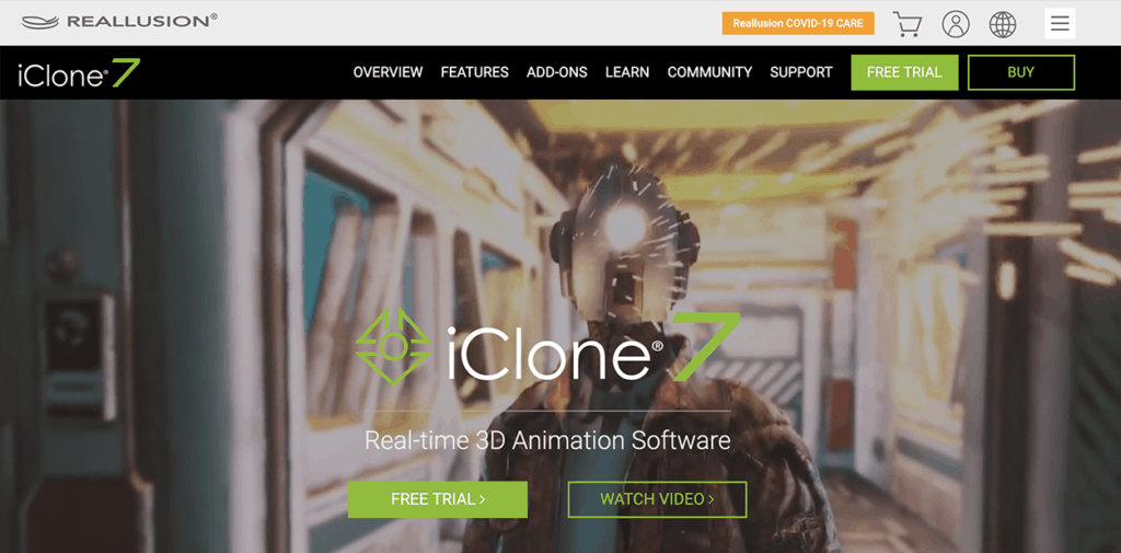 Reallusion iClone 7 Best 3D real time animation