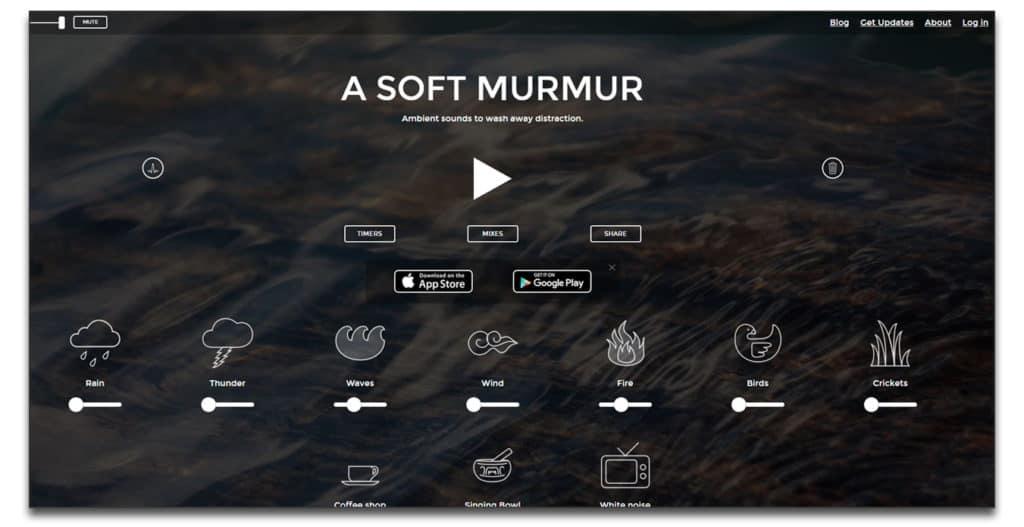 a soft murmur review