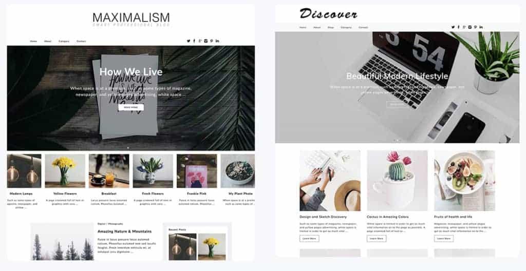 Dessign WordPress Blog themes