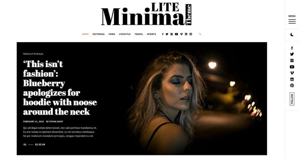 Free Simple, Clean & Minimalist Modern WordPress Themes