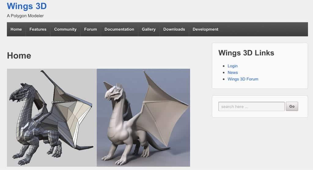 Wings 3D Modeler